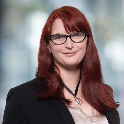Martina Kettig, Leiterin Finanzmanagement